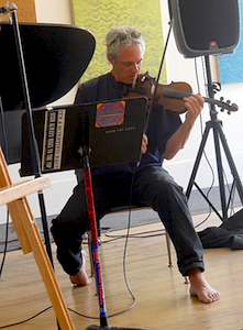 Jeff Hobbs performs at Vexations Re-vex'd I, 22 Mar 2013, Berkeley Arts Festival (photo - Joel Deuter)