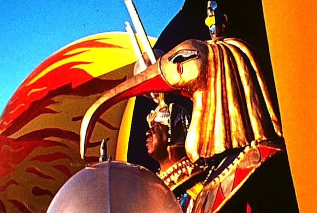 Sun Ra and friend, from the film Space Is The Place