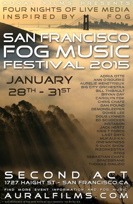 San Francisco Fog Music Festival, 2015