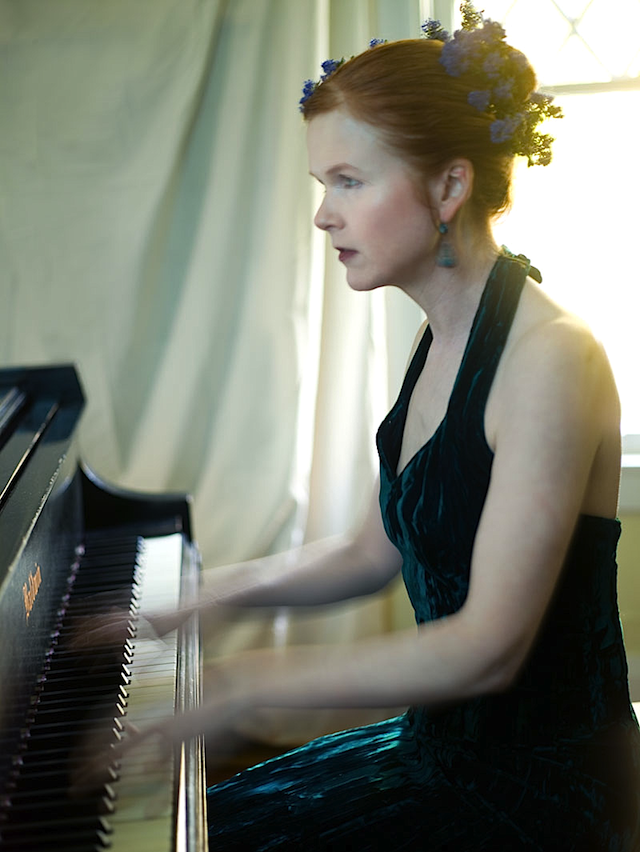 Sarah Cahill (photo by Marianne La Rochelle)
