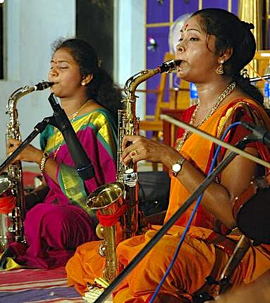 South India's Saxophone Sisters will be the subject of a documentary film at the Asian Art Museum on 15 June 2015