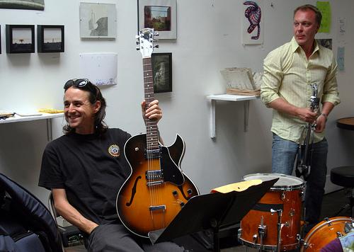John Shiurba (L) & Kjell Nordeson (R), photo by Dill Pixels