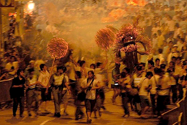 Tai Hang Fire Dragon (大坑舞火龍)