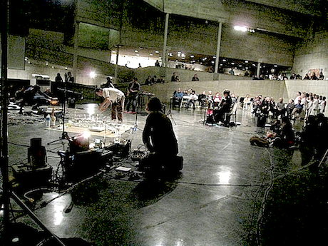 Thingamajigs Performance Group @ Berkeley Art Museum, 13 May 2013 (photo – Michael Zelner)