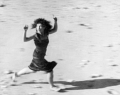 Maya Deren in her film At Land