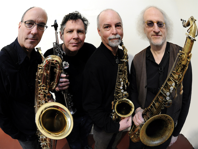 ROVA Saxophone Quartet (photo by Myles Boisen)