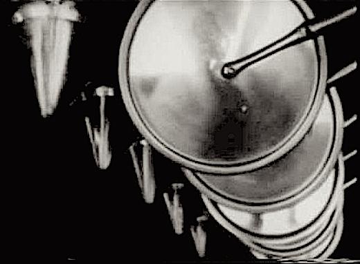 Frame from Fernand Léger's « Ballet mécanique »