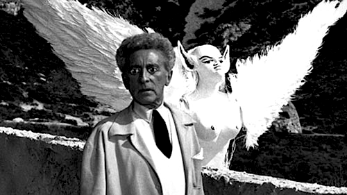 Jean Cocteau and friend