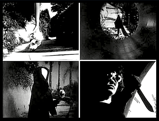Montage of scenes from Meshes Of The Afternoon by Maya Deren (Майя Дерен)