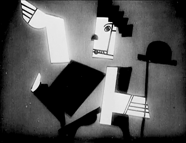 One of Léger's animation sequences from « Ballet mécanique »