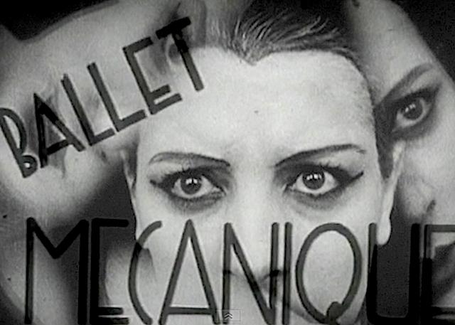 Poster for Fernand Léger's « Ballet mécanique »