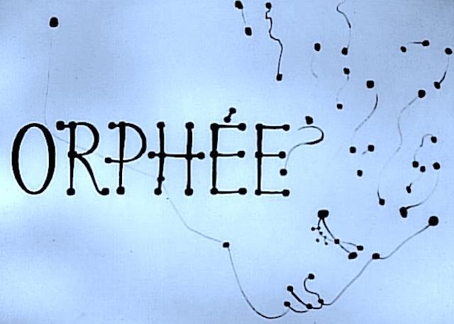 Orphée by Jean Cocteau