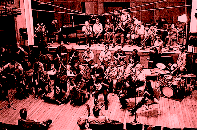 The London Improvisers Orchestra in action