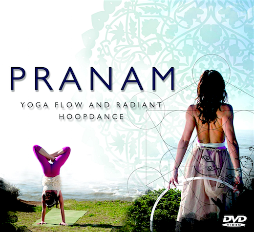 Praṇām (प्रणाम), award-winning yoga DVD by Sianna Sherman with music by Gabriel Gold