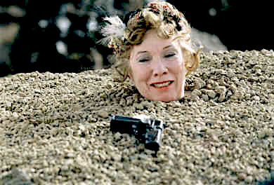 Rosaleen Linehan as Winnie in Samuel Beckett's Happy Days