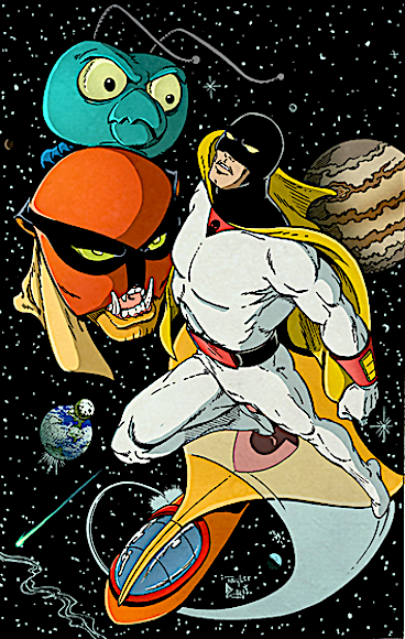 Space Ghost and friends