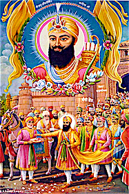 Bandī Chhōṛ Divas (ਬੰਦੀ ਛੋੜ ਦਿਵਸ) - Guru Hargobind Ji is released from Gwalior Fort by Jahangir's order